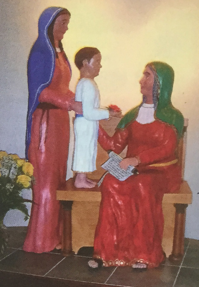 St. Anne Florida Carving Statue Final