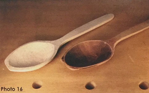 Comparing Spoons.