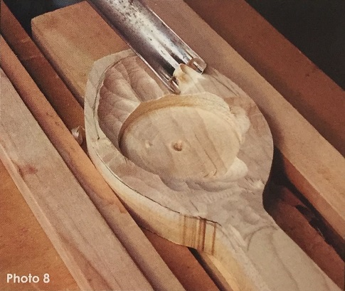 Lime wood spoon carving blank