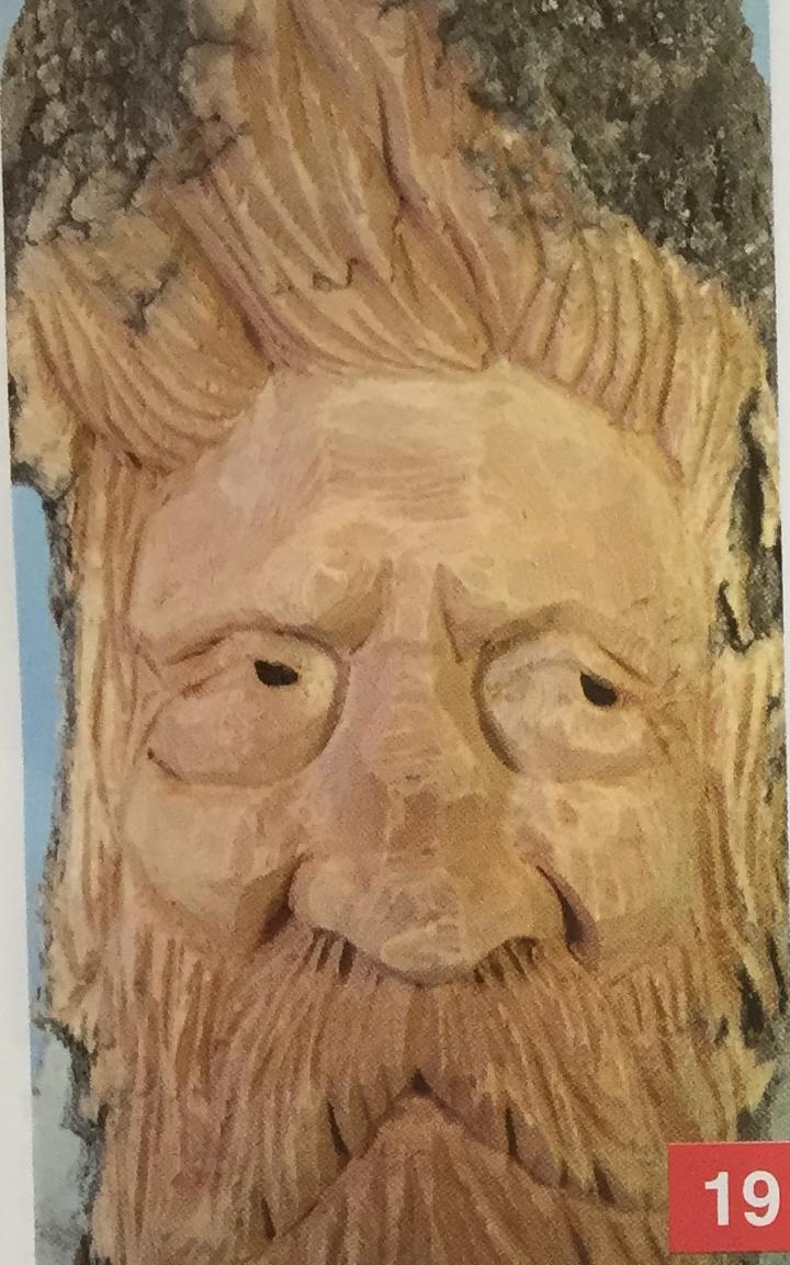Carving a bark woodspirit magazine