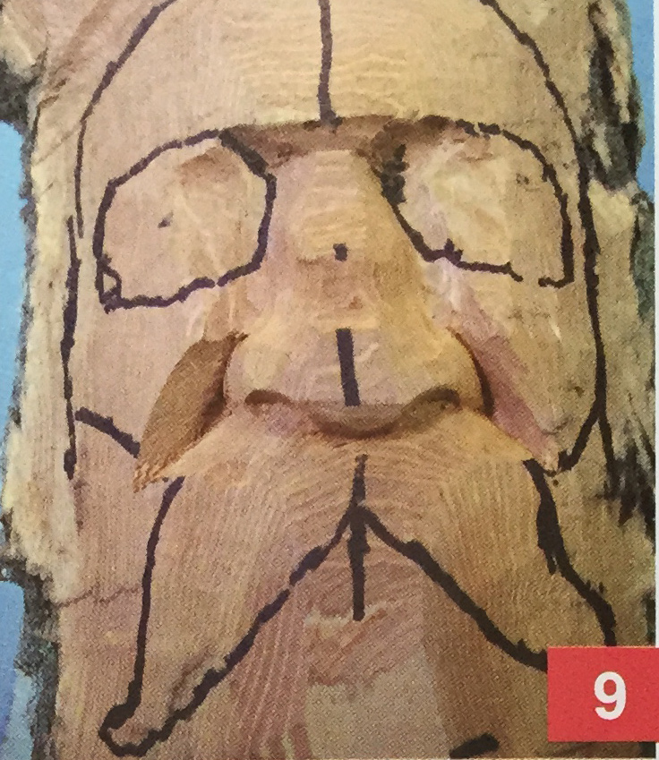 Carving a bark woodspirit magazine