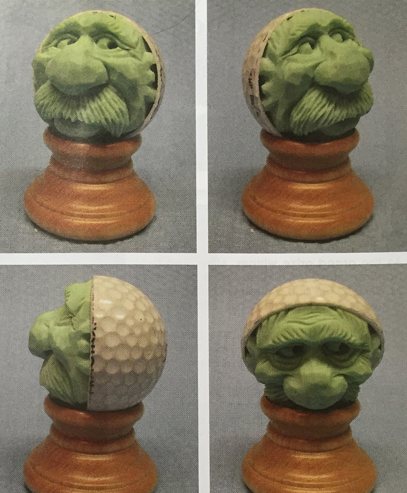Golf Ball Carving Step 28