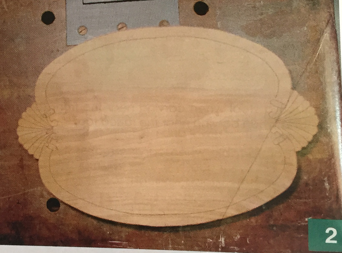 Cherry Tray Carving Step 2