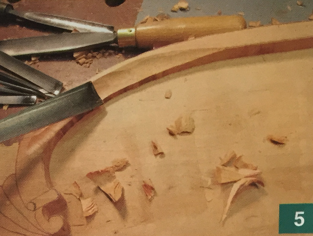 Cherry Tray Carving Step 5