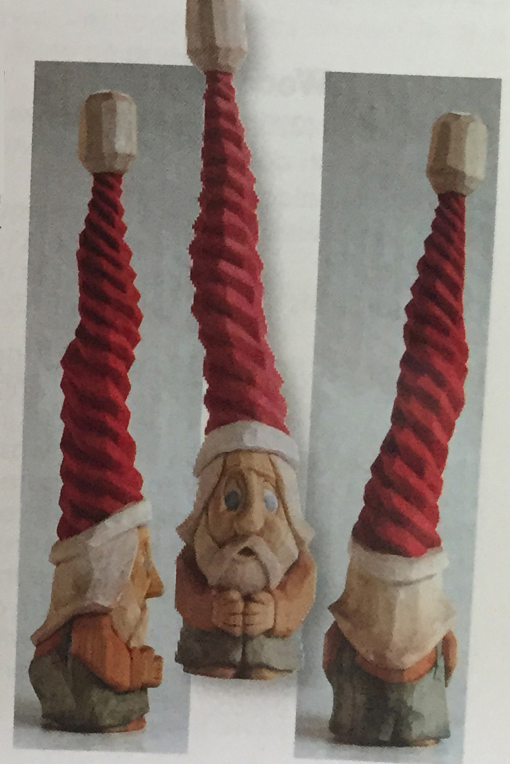 Whimsical gnome carving carving magazine