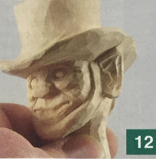 Leprechaun Carving Step 12
