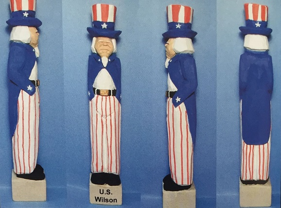 DIY: Carving Uncle Sam