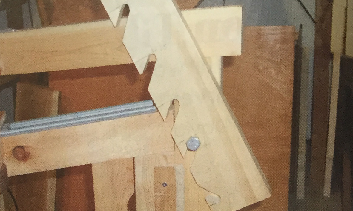 carver's tilting bench step 7